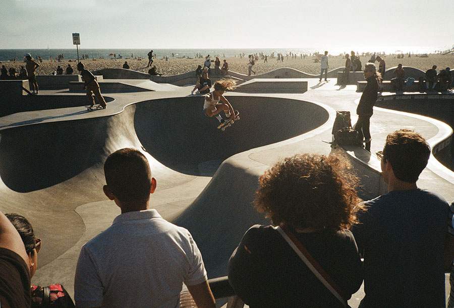 lichterwaldt skateboard venice beach